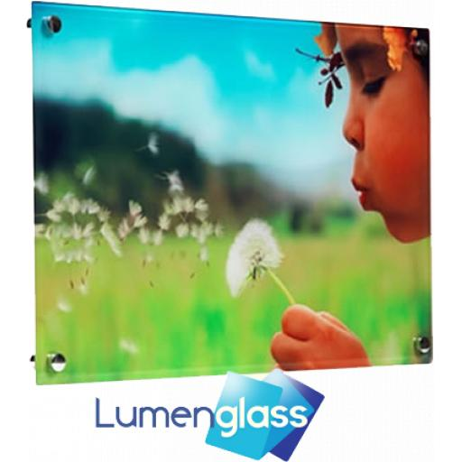 Lumenglass Glass Photo Panel