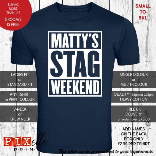 'Straight Outta' Personalised Stag Night Tshirt