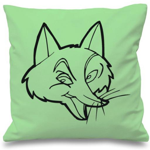 Foxy Fox Cushion & Cover