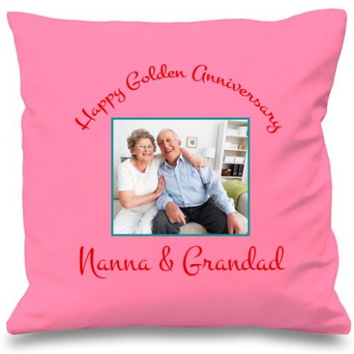 Celebration Photo Cushion Cover