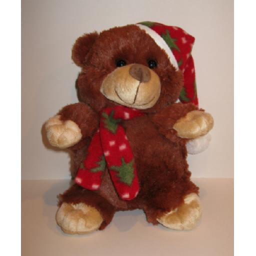 Berry Bear - Small Christmas Teddy Bear