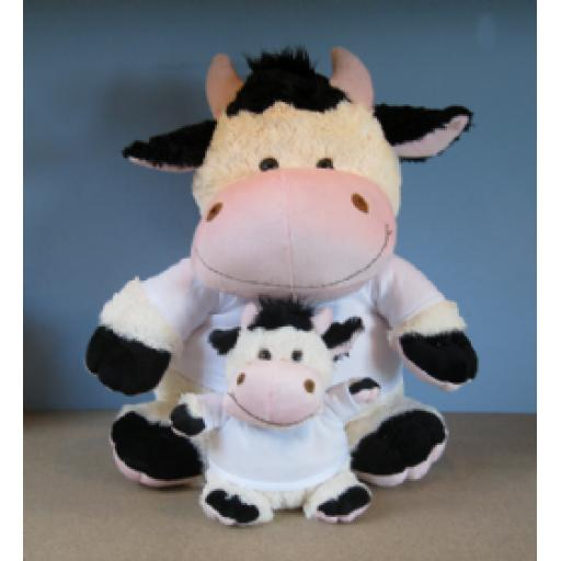 Clover Cow - Crazy Critters Teddy Bear