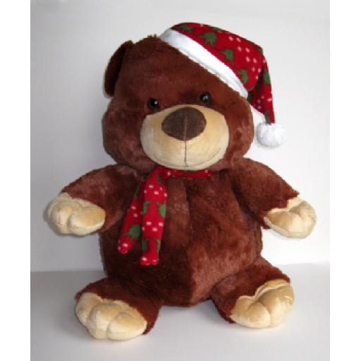Berry Bear - Large Christmas Teddy