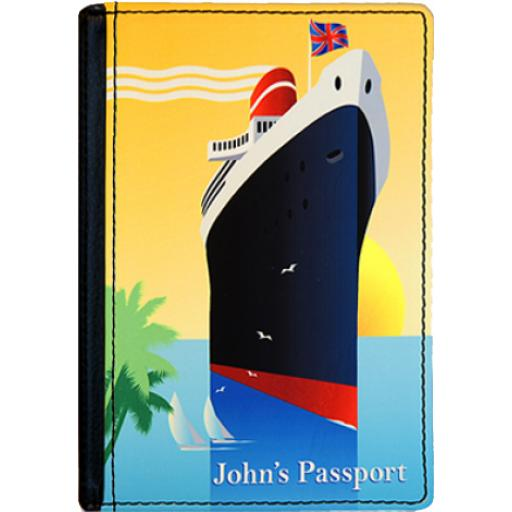 Personalised Photo Passport Cover