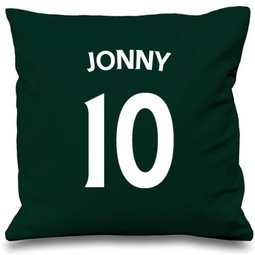 Football Name & Number Cushion Cover