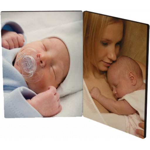Hinged Wooden Photo Panel