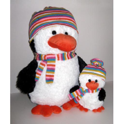 Perry Penguin - Christmas Teddy Bear
