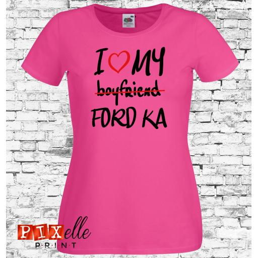 I Love My Ford KA Tshirt