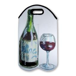 Personalised Double Wine Bottle Carrier