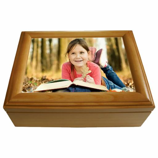 Personalised Maple Keepsake box