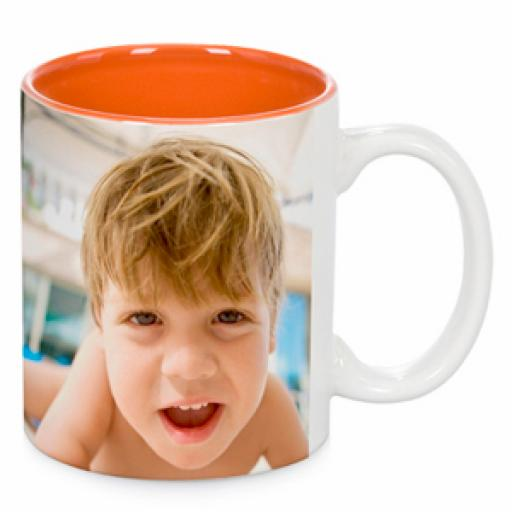 Two-Tone Multicolour Mugs
