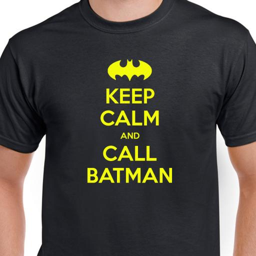 Keep Calm and Call Batman Tshirt