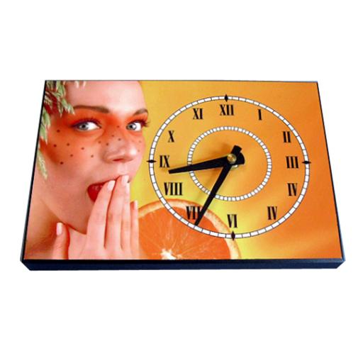 Custom Printed Offset Photo Clock