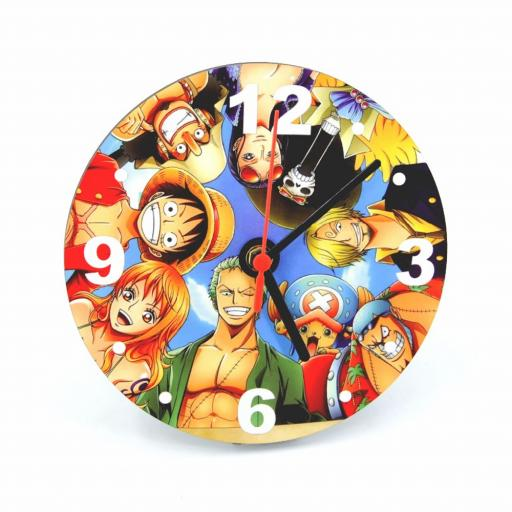 Personalised Round Wooden Photo Clock