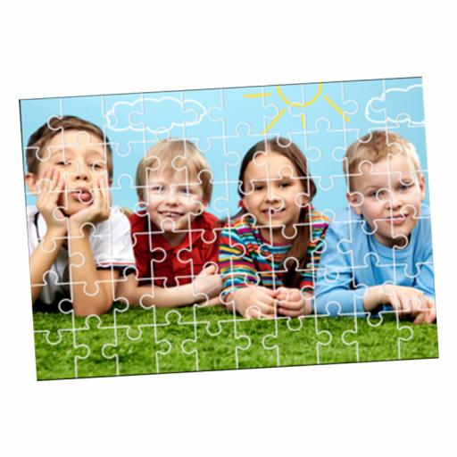 Custom Printed Wooden Photo Jigsaws