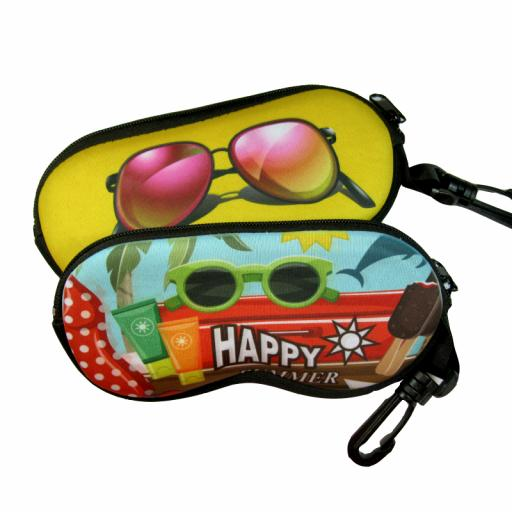 Personalised Neoprene Glasses Pouch