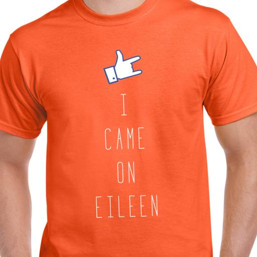 I Came On Eileen Adult Tshirt
