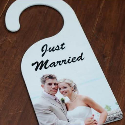 Custom Printed Photo Door Hanger