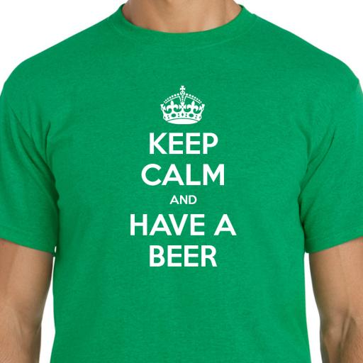 Keep Calm and Have A Beer Tshirt