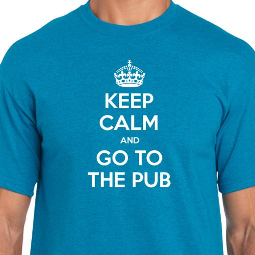 Keep Calm and Go To The Pub Tshirt