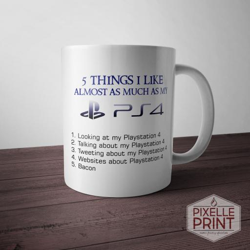Playstation 4 Addict Mug