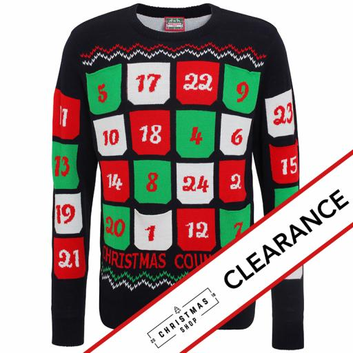 3D Advent Calendar Christmas Jumper
