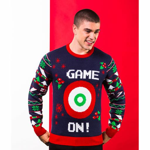 GAME ON Target Christmas Jumper