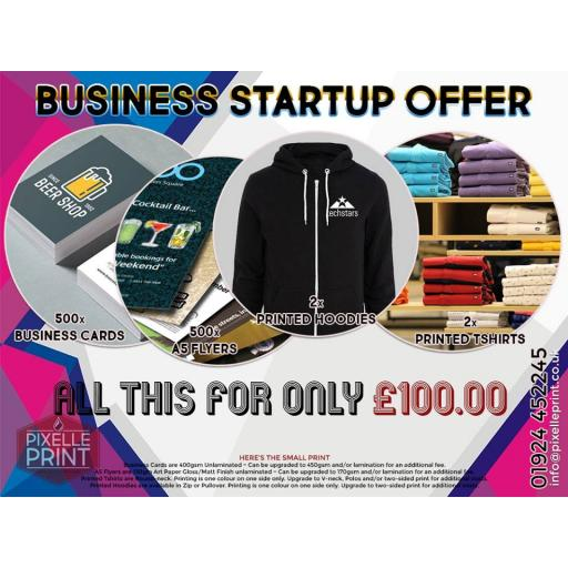 Business Startup Package - The Tiny One